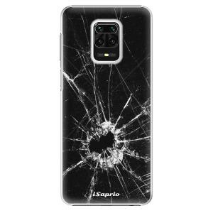 Plastové pouzdro iSaprio - Broken Glass 10 na mobil Xiaomi Redmi Note 9S / Xiaomi Redmi Note 9 Pro