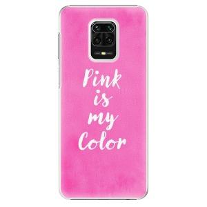 Plastové pouzdro iSaprio - Pink is my color na mobil Xiaomi Redmi Note 9S / Xiaomi Redmi Note 9 Pro - výprodej