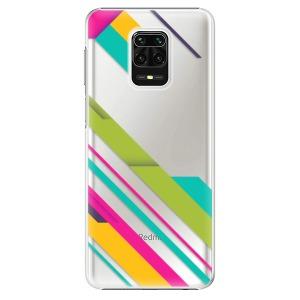 Plastové pouzdro iSaprio - Color Stripes 03 na mobil Xiaomi Redmi Note 9S / Xiaomi Redmi Note 9 Pro
