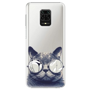 Plastové pouzdro iSaprio - Crazy Cat 01 na mobil Xiaomi Redmi Note 9S / Xiaomi Redmi Note 9 Pro