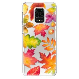 Plastové pouzdro iSaprio - Autumn Leaves 01 na mobil Xiaomi Redmi Note 9S / Xiaomi Redmi Note 9 Pro