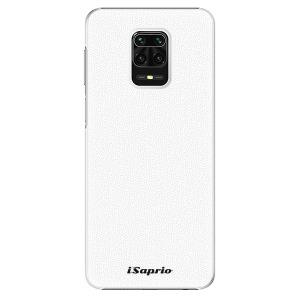 Plastové pouzdro iSaprio - 4Pure - bílé na mobil Xiaomi Redmi Note 9S / Xiaomi Redmi Note 9 Pro