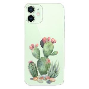 Plastové pouzdro iSaprio - Cacti 01 na mobil Apple iPhone 12 Mini