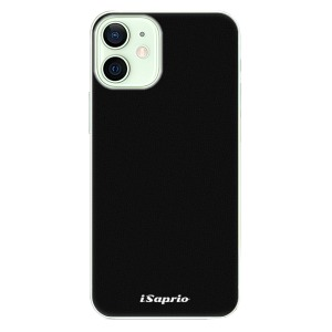 Plastové pouzdro iSaprio - 4Pure - černé na mobil Apple iPhone 12 Mini
