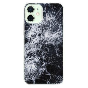 Plastové pouzdro iSaprio - Cracked na mobil Apple iPhone 12