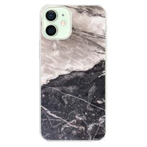 Plastové pouzdro iSaprio - BW Marble na mobil Apple iPhone 12