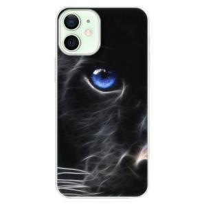Plastové pouzdro iSaprio - Black Puma na mobil Apple iPhone 12