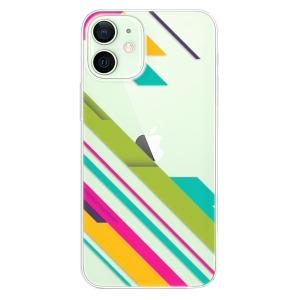 Plastové pouzdro iSaprio - Color Stripes 03 na mobil Apple iPhone 12