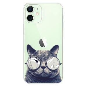 Plastové pouzdro iSaprio - Crazy Cat 01 na mobil Apple iPhone 12