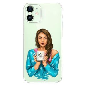 Plastové pouzdro iSaprio - Coffe Now - Brunette na mobil Apple iPhone 12