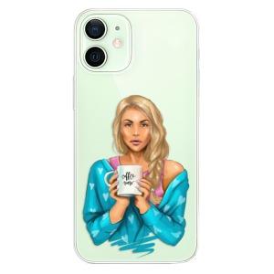 Plastové pouzdro iSaprio - Coffe Now - Blond na mobil Apple iPhone 12