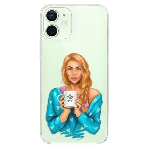 Plastové pouzdro iSaprio - Coffe Now - Redhead na mobil Apple iPhone 12