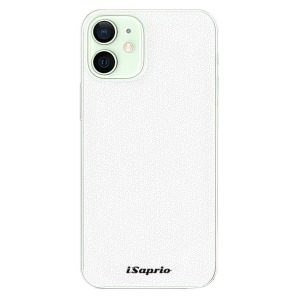 Plastové pouzdro iSaprio - 4Pure - bílé na mobil Apple iPhone 12