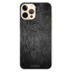 Plastové pouzdro iSaprio - Black Wood 13 na mobil Apple iPhone 12 Pro