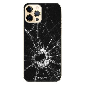 Plastové pouzdro iSaprio - Broken Glass 10 na mobil Apple iPhone 12 Pro