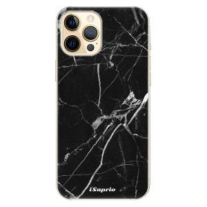 Plastové pouzdro iSaprio - Black Marble 18 na mobil Apple iPhone 12 Pro