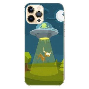 Plastové pouzdro iSaprio - Alien 01 na mobil Apple iPhone 12 Pro