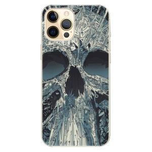 Plastové pouzdro iSaprio - Abstract Skull na mobil Apple iPhone 12 Pro