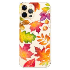Plastové pouzdro iSaprio - Autumn Leaves 01 na mobil Apple iPhone 12 Pro