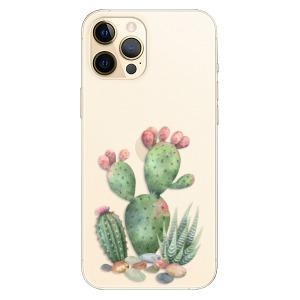 Plastové pouzdro iSaprio - Cacti 01 na mobil Apple iPhone 12 Pro