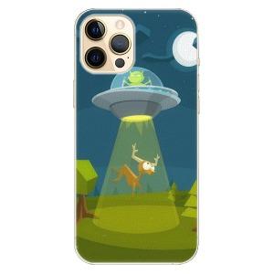 Plastové pouzdro iSaprio - Alien 01 na mobil Apple iPhone 12 Pro Max