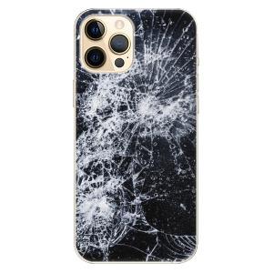 Plastové pouzdro iSaprio - Cracked na mobil Apple iPhone 12 Pro Max