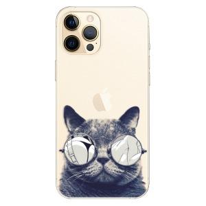 Plastové pouzdro iSaprio - Crazy Cat 01 na mobil Apple iPhone 12 Pro Max