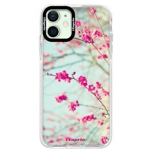 Silikonové pouzdro Bumper iSaprio - Blossom 01 na mobil Apple iPhone 12 Mini