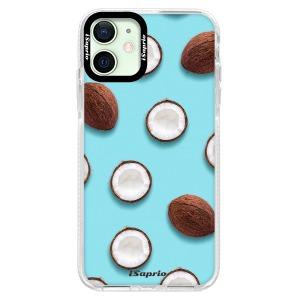 Silikonové pouzdro Bumper iSaprio - Coconut 01 na mobil Apple iPhone 12 Mini
