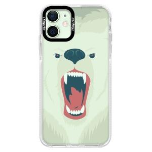 Silikonové pouzdro Bumper iSaprio - Angry Bear na mobil Apple iPhone 12 Mini