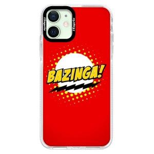 Silikonové pouzdro Bumper iSaprio - Bazinga 01 na mobil Apple iPhone 12 Mini