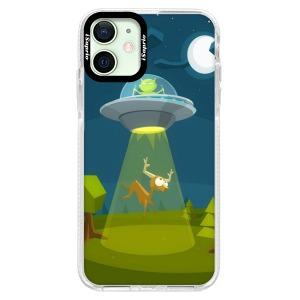 Silikonové pouzdro Bumper iSaprio - Alien 01 na mobil Apple iPhone 12 Mini
