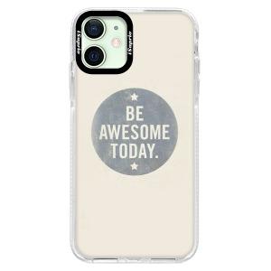 Silikonové pouzdro Bumper iSaprio - Awesome 02 na mobil Apple iPhone 12 Mini