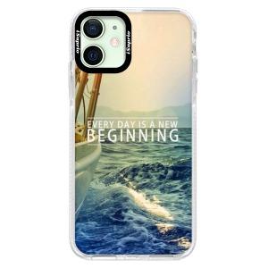 Silikonové pouzdro Bumper iSaprio - Beginning na mobil Apple iPhone 12 Mini