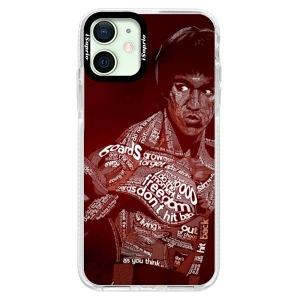 Silikonové pouzdro Bumper iSaprio - Bruce Lee na mobil Apple iPhone 12 Mini