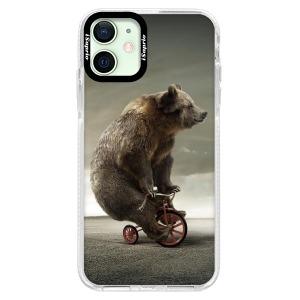 Silikonové pouzdro Bumper iSaprio - Bear 01 na mobil Apple iPhone 12 Mini