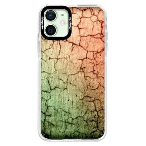 Silikonové pouzdro Bumper iSaprio - Cracked Wall 01 na mobil Apple iPhone 12 Mini