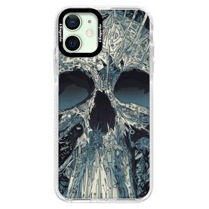 Silikonové pouzdro Bumper iSaprio - Abstract Skull na mobil Apple iPhone 12 Mini