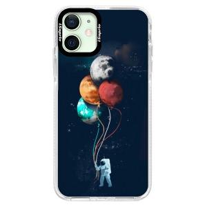 Silikonové pouzdro Bumper iSaprio - Balloons 02 na mobil Apple iPhone 12 Mini