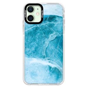 Silikonové pouzdro Bumper iSaprio - Blue Marble na mobil Apple iPhone 12 Mini