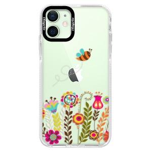 Silikonové pouzdro Bumper iSaprio - Bee 01 na mobil Apple iPhone 12 Mini