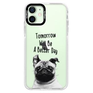Silikonové pouzdro Bumper iSaprio - Better Day 01 na mobil Apple iPhone 12 Mini