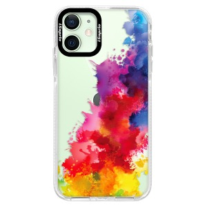 Silikonové pouzdro Bumper iSaprio - Color Splash 01 na mobil Apple iPhone 12 Mini
