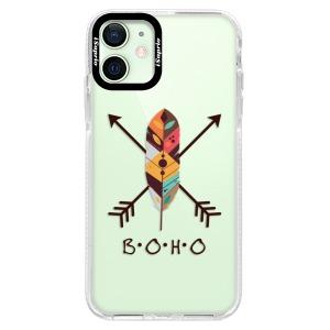 Silikonové pouzdro Bumper iSaprio - BOHO na mobil Apple iPhone 12 Mini