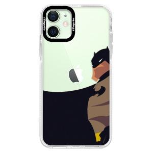 Silikonové pouzdro Bumper iSaprio - BaT Comics na mobil Apple iPhone 12 Mini