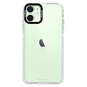 Silikonové pouzdro Bumper iSaprio - 4Pure - čiré bez potisku na mobil Apple iPhone 12 Mini