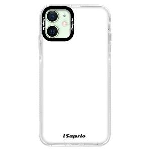 Silikonové pouzdro Bumper iSaprio - 4Pure - bílé na mobil Apple iPhone 12 Mini
