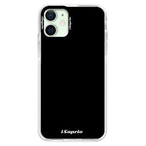 Silikonové pouzdro Bumper iSaprio - 4Pure - černé na mobil Apple iPhone 12 Mini
