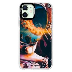 Silikonové pouzdro Bumper iSaprio - Astronaut 01 na mobil Apple iPhone 12
