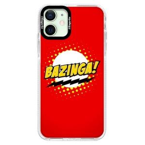 Silikonové pouzdro Bumper iSaprio - Bazinga 01 na mobil Apple iPhone 12